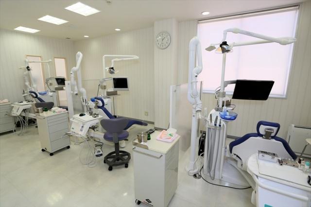 患者さん第一の、徹底した衛生管理